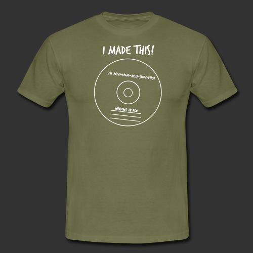 geek imadethis - T-shirt herr