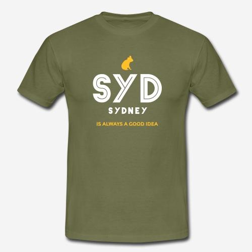 SYDNEY E' SEMPRE UNA BUONA IDEA! - Maglietta da uomo
