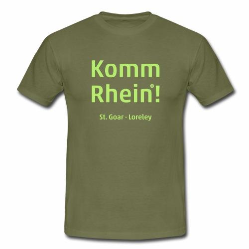 Komm Rhein! St. Goar · Loreley - Männer T-Shirt