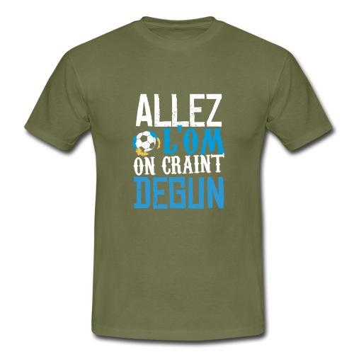 Nouvelle ligne Allez l'OM - T-shirt Homme