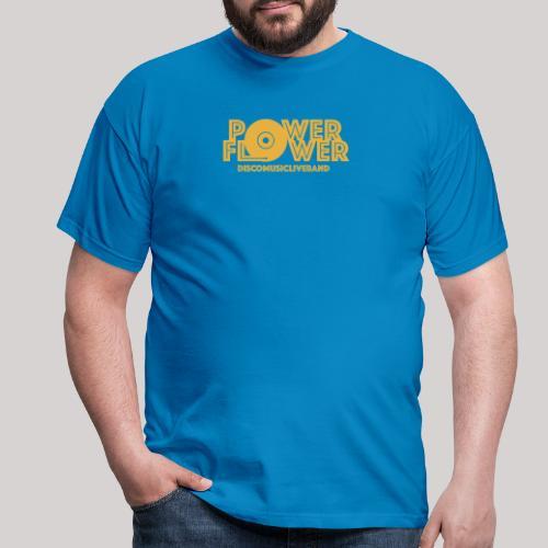 logo def PF 1colore giallo - Maglietta da uomo