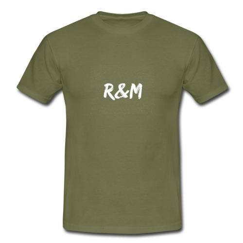 R&M Large Logo tshirt black - Men's T-Shirt