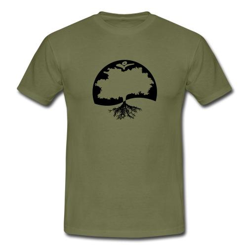 Naturals Logo Grafik - Männer T-Shirt