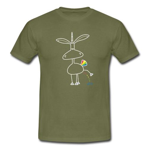 Dru - bunt pinkeln - Männer T-Shirt
