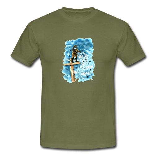 after the storm - Men's T-Shirt