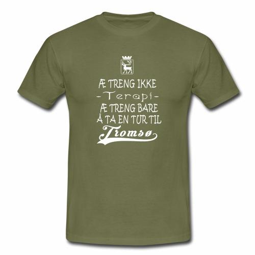 Tromsøskjorte - T-skjorte for menn