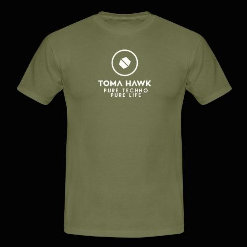 Toma Hawk - Pure Techno - Pure Life White - Männer T-Shirt