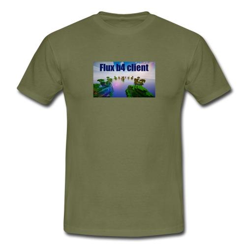 Flux b4 client shirt - T-shirt herr