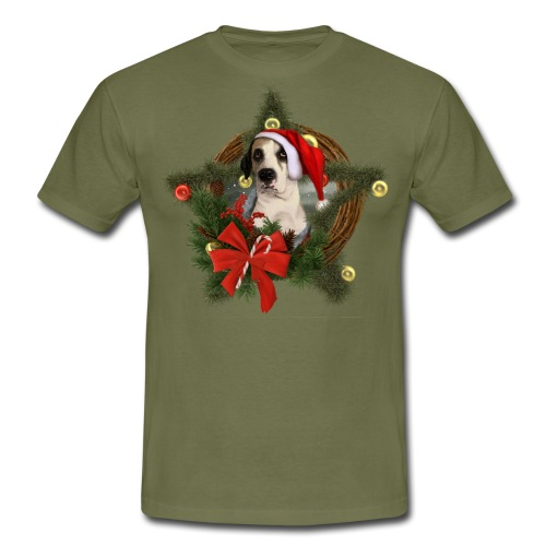 Christmas Dog - Maglietta da uomo
