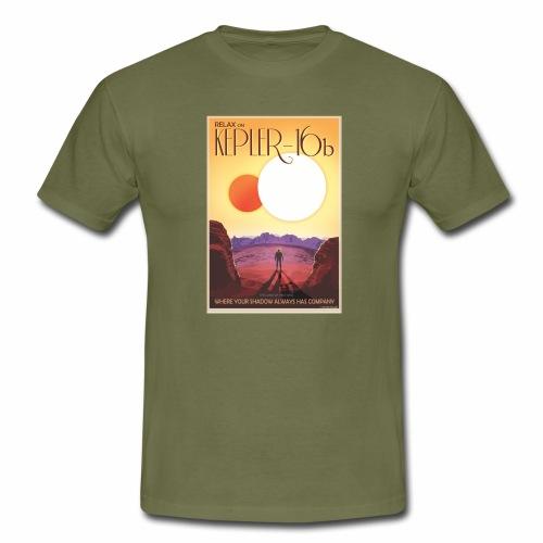 Kepler, planète aux deux soleils - T-shirt Homme