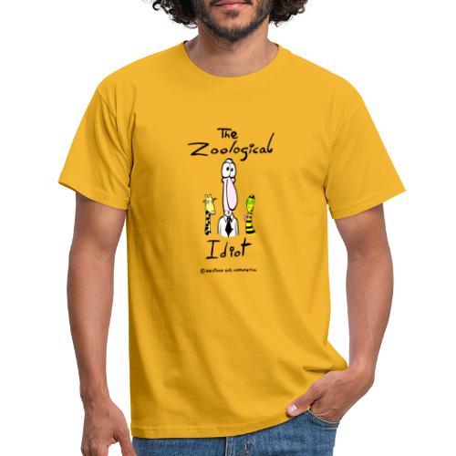 Zoological idiot, colores claros - Camiseta hombre