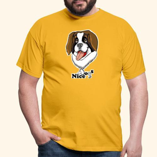 Nice Dogs san bernardo - Maglietta da uomo