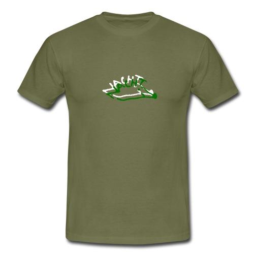 Nachtigel weiß - Männer T-Shirt