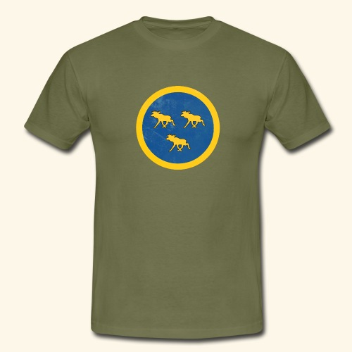 Swedish Moose Force - T-shirt herr
