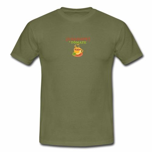 Cámate y tómate un Té - Camiseta hombre