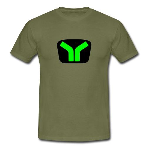 Yugo logo colored design - Men's T-Shirt