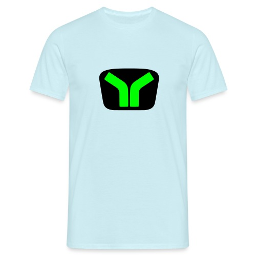 Yugo logo colored design - Men's T-Shirt