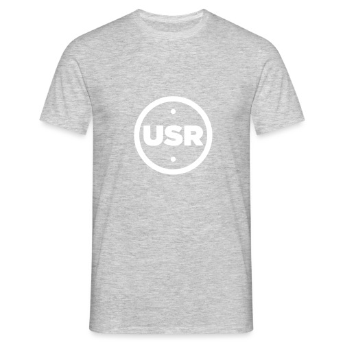 Unique Sessions Radio White Logo 2020 - Men's T-Shirt