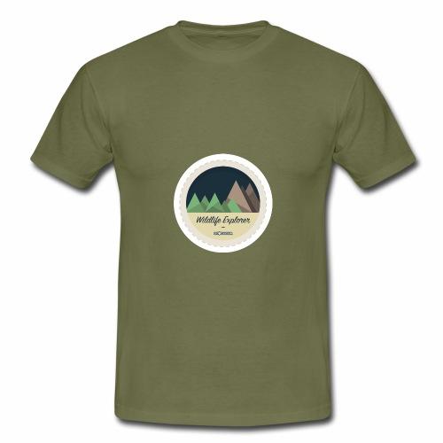 Badge - Wildlife Explorer - Men's T-Shirt