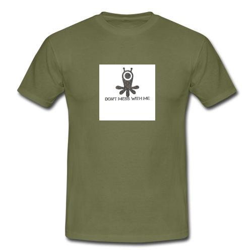 Dont mess whith me logo - Men's T-Shirt