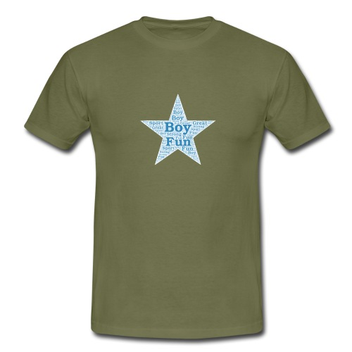 A star is born - Mannen T-shirt