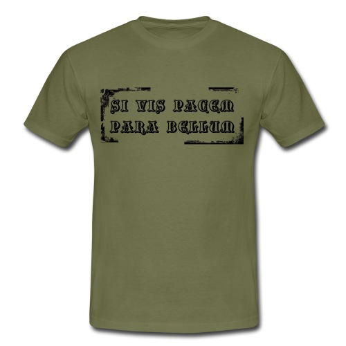 Si vis pacem - T-shirt Homme