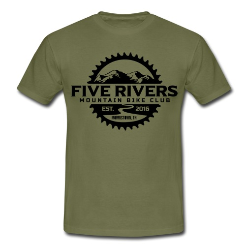 FIVE RIVERS BIKE PARK - Camiseta hombre