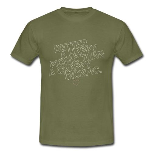 PICNIC vs DICKPIC - Männer T-Shirt