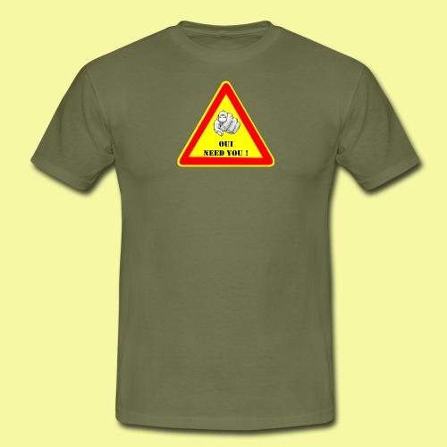 ouineedyou - T-shirt Homme
