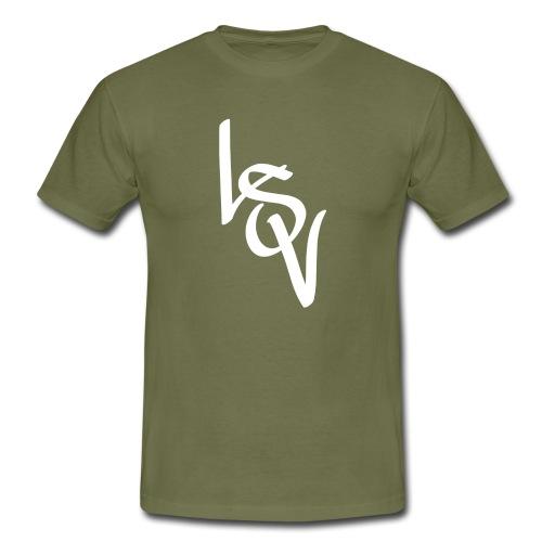 LSV BUCHSTABEN - Männer T-Shirt