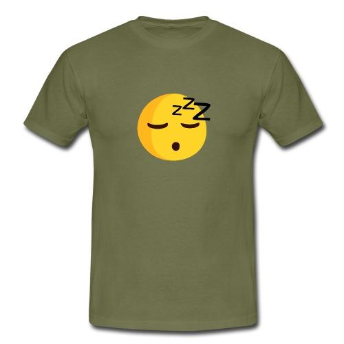 emoji sleep - T-shirt Homme