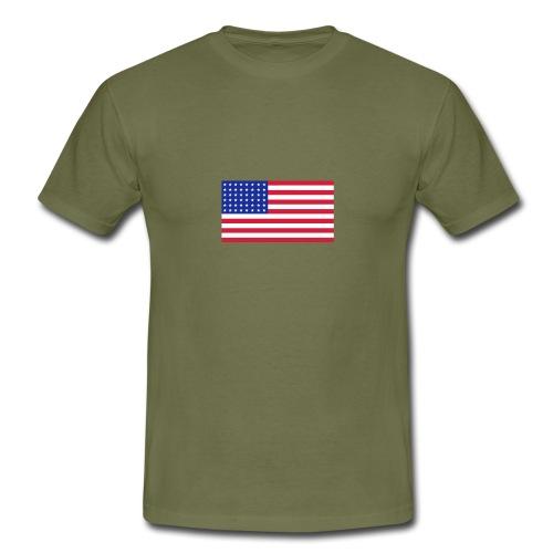 AVM 48 star flag in 3 color RGB VECTOR - Mannen T-shirt