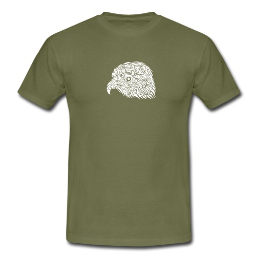 aigle royal blanc - T-shirt Homme