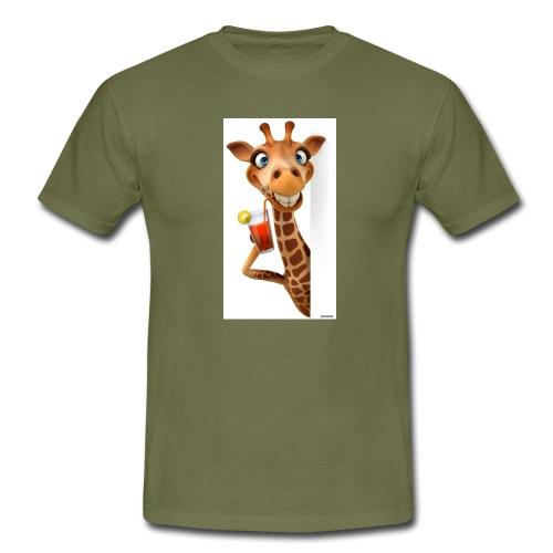 Giraffe - Männer T-Shirt