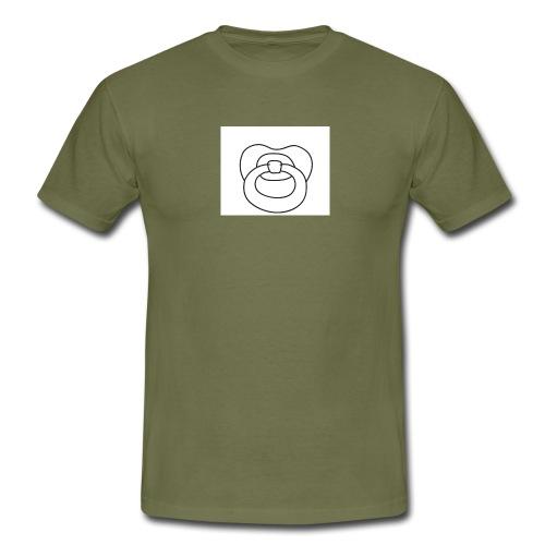 Schnuller - Männer T-Shirt