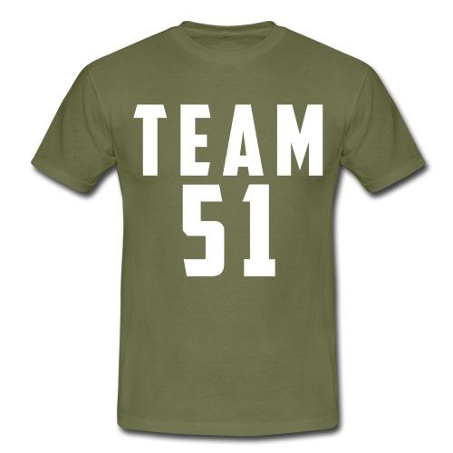 Logo team 51 modern - T-shirt Homme