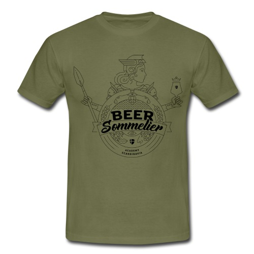 Beer Sommelier Academy - Valkyria - T-shirt herr