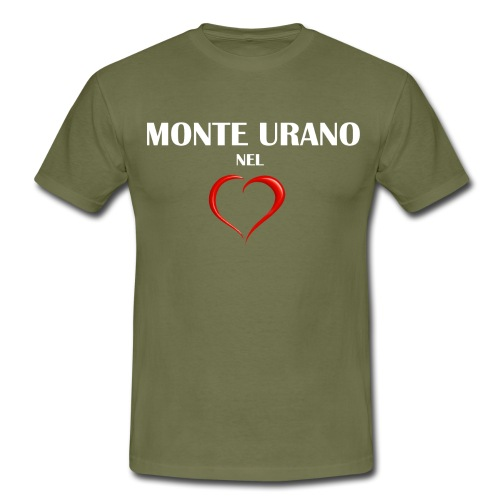 Monte Urano nel Cuore - Maglietta da uomo