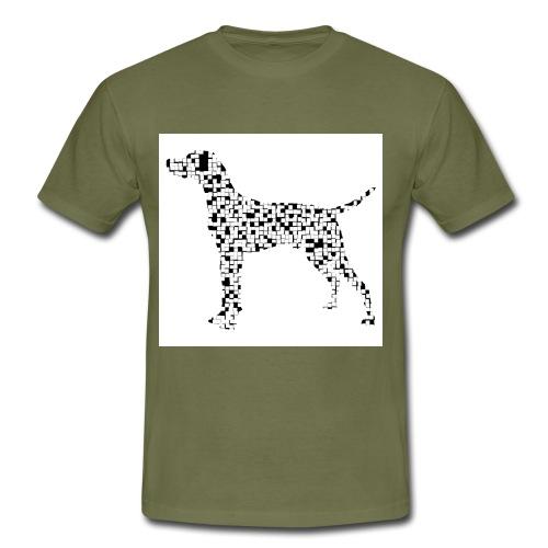 Hunderätsel - Männer T-Shirt