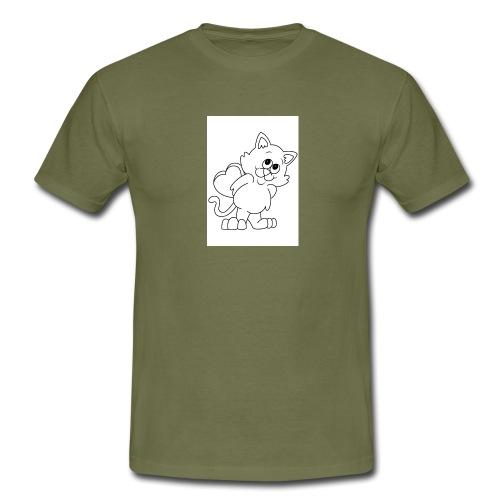 La Le Petit filon chat - T-shirt Homme