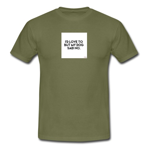 Big Boss said no - Men's T-Shirt