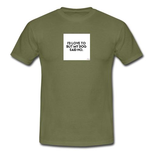 Big Boss said no - Men's T-Shirt
