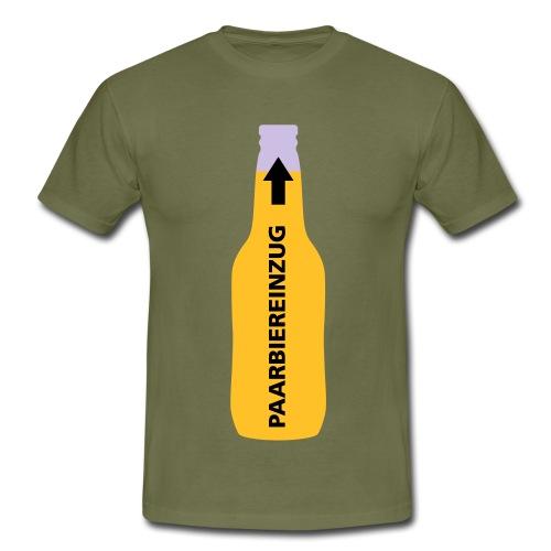 Paar Bier Einzug - Männer T-Shirt