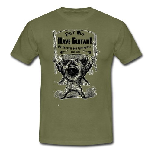 Have Guitar Shout Out - T-shirt herr
