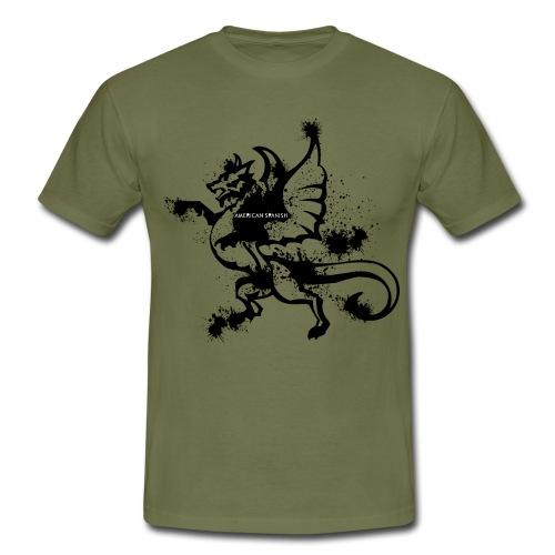 American spanish dragón - Camiseta hombre