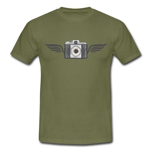Kamera - Männer T-Shirt