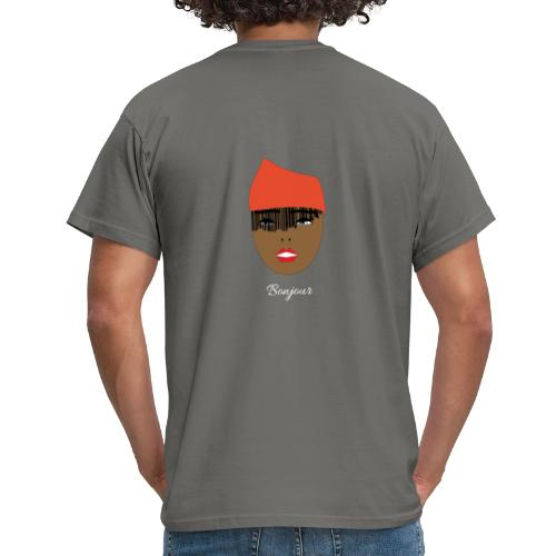 Orange lady - T-shirt herr