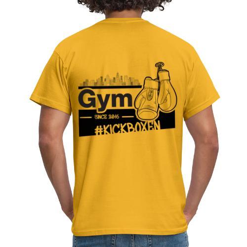 Gym in Druckfarbe schwarz - Männer T-Shirt