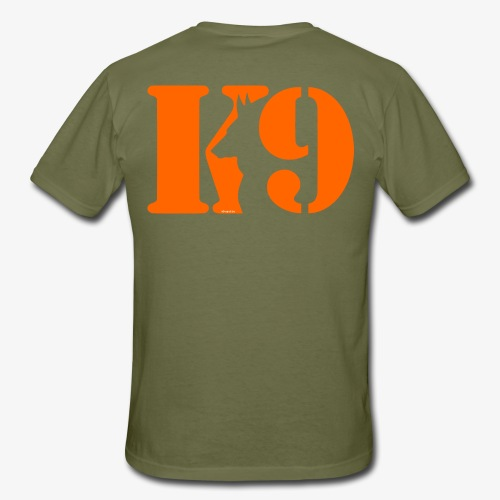 K9 CARDI ORANGE LOGO - Men's T-Shirt