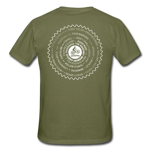 MBS Places Cassette2 whit - Men's T-Shirt